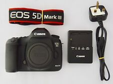 Canon EOS 5D Mark III 22.3MP Digital SLR Camera (Body Only) 8K Shutter Count