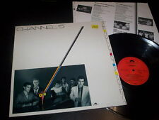 "Channel 5 ""The Colour Of A Moment"" LP inner Polydor ‎– 825 821-1 Germany 1985"