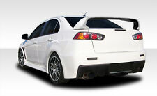 08-15 Mitsubishi Lancer EVO X Look Duraflex Rear Body Kit Bumper!!! 106955