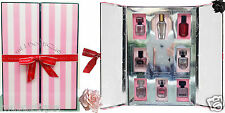 1 VICTORIA'S SECRET HOLIDAY ULTIMATE 8 MINI EDP PERFUME GIFT SET BOX COFRET 2015