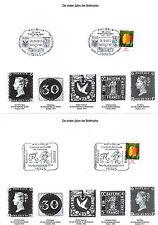 2 Stempelkarten Tag der Briefmarke 2012 mit Sonderstempel Wildau