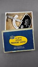 Vintage Shield X-671 Turntable Stylus Pressure Gauge made in Japan