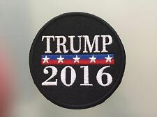 DONALD TRUMP 2016 PRESIDENTIAL ELECTIONS - Embroidered Iron On Patch