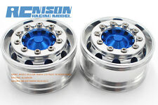 Tamiya 1/14 MAN R620 King Hauler 3363  Alloy Wide front hub (2pcs) RC NISON