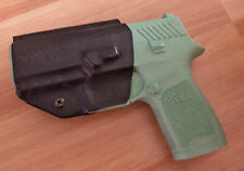 Sig Sauer P320 Custum Black Kydex Gun Holster IWB Right Hand LH OWB