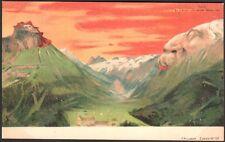 Suisse.  Surréalisme antropomorphisme. Killinger n° 101