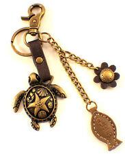 Chala Sea Turtle Marine Life Charming Key Chain Purse Bag Fob Charm #602TU2