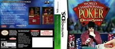 World Championship Poker Deluxe Series Nintendo DS NDS Game COMPLETE CIB LikeNew