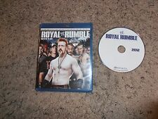 ROYAL RUMBLE 2012 25TH ANNIVERSARY wwe BLU-RAY wrestling