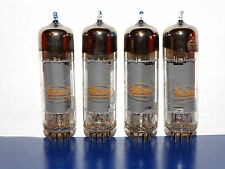 4 x 6BQ5/EL84 RCA Baldwin Tubes *Foil O*Very Strong & Matched*#2