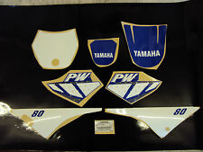 YAMAHA PW 80 GRAPHICS DECALS STICKER KIT