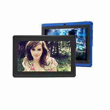 "Wholesale Lot 2 iRulu 7"" Android 4.4 Tablet 8GB Dual Camera (Black + Blue)"