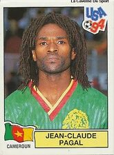 N°100 PAGAL CAMEROUN CAMEROON PANINI WORLD CUP 1994 STICKER VIGNETTE 94