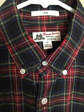 J.Crew Thomas Mason Ludlow Flannel Tartan Plaid Shirt - Size Small
