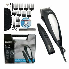 Wahl Deluxe Men's Hair Clipper Trimmer Barba Kit Completo Taglio Macchina