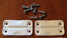 GENUINE IGLOO COOLER Hinges (ONE PAIR w/screws) FIX OLD COOLER! Free Shipping!!