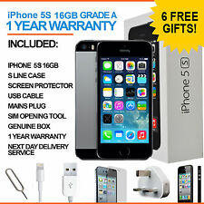 Apple iPhone 5s - 16 GB - Space Grey (Unlocked) - Grade A
