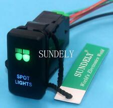 SPOT LIGHTS 12 Volt ON-OFF Push Button Switch Laser Etched For Toyota FJ Cruiser