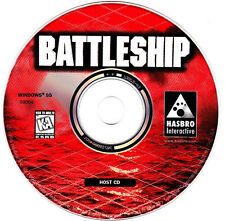 Battleship PC Video Game 2 CDROM Host And 2nd Player discs Windows 95 1996