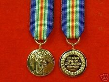 Quality World War 1 Victory  Miniature Medals