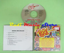 CD MITI DEL ROCK LIVE 9 MUSICAL BOX compilation 1993 GENESIS (C31) no mc lp vhs