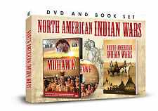 NORTH AMERICAN INDIAN WARS BOOK AND DVD SET - MOHAWK DVD &  AMERICAN INDIAN BOOK