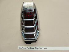 66 Mercury Monterey Marauder Park RIGHT TAIL LIGHT TAILLIGHT BRAKE REVERSE LENS