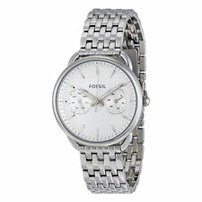 Fossil ES3712 Tailor White Dial Analog Stainless Steel Ladies Fashion Watch