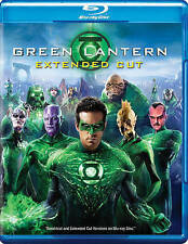 Green Lantern (Blu-ray/DVD 2011, 2-Disc Set, Extended Cut) Brand New W/Slipcover
