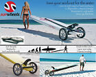 Standup paddle board carrier - Paddle Surf Board Wheeled trolly by SUP Wheels