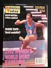 ATHLETICS TODAY - WOMEN'S WORLD MERIT RANKINGS - DEC 9 1992