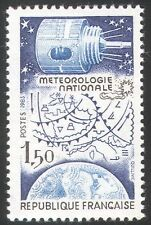 France 1983 Space/Satellite/Weather/Climate 1v (n28770)
