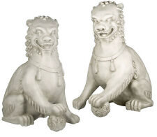 "Large Foo Dog Set 35"" statues sculptures Sculpture Replica Reproduction"