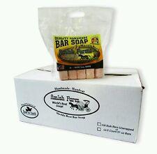 Amish Farms Quality Handmade Natural Bar Soap Case of 12 Bags 60 bars