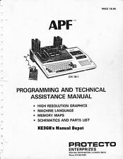 APF Programming and Technical Assitance Manual * CDROM * PDF