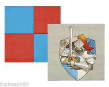NEW KNIGHTS AND DRAGONS MEDIEVAL BIRTHDAY PARTY NAPKINS X 12 TABLEWARE PARTYWARE