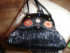 Butler And Wilson Large Floral and Beaded handbag BNWOT NEW
