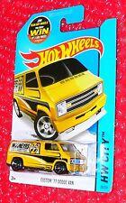 2015 Hot Wheels Custom '77 Dodge Van #20/250 HW City Mooneyes  CFH46-09B1F