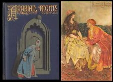 Walter Paget ARABIAN NIGHTS 6 Colour Plates FAIRY TALES Antique Book NISTER 1907