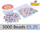 Hama Bead 3000 Tubs And Packs. 3 Mixed Colours To Choose From