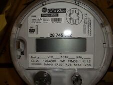 Electric Meter - GE 45S CL20 PolyPhase Energy Meter w/ Itron ERT