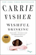WISHFUL DRINKING Carrie Fisher NEW book biography Princess Leia bipolar star war
