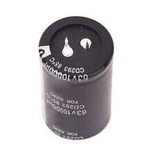 2x(63V 10000UF Elko Elektrolytischen Kondensator CD293 85 ℃ fuer Audio GY