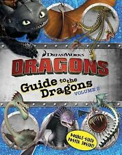 Guide to the Dragons Volume 2 (How to Train Your Dragon TV), Evans, Cordelia