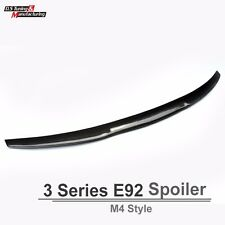 Real Carbon Fiber for BMW E92 Coupe M4 Style Look Trunk Boot  Rear Spoiler 335i