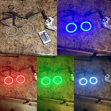 120mm projector Color Changing halo rings, rgb Halo Led Headlight Kit