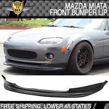 06-08 Mazda MX-5 Miata MX5 2Dr Convertible GV Style Front Bumper Lip Spoiler