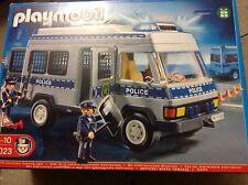 Playmobil  police van with flashing lights brand new and sealed