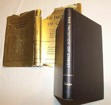 Imitation of Christ Whitford Translation Klein Introduction Harper&Bros1943 w/DJ