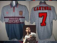 "Manchester United Cantona Jersey Shirt 38"" Soccer Youth Umbro Football France"
